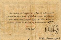2 Francs FRANCE régionalisme et divers CALAIS 1914 JP.036.05 TB
