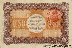 50 Centimes FRANCE régionalisme et divers CALAIS 1916 JP.036.21 TTB à SUP