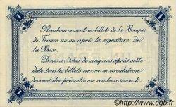 1 Franc FRANCE régionalisme et divers Calais 1916 JP.036.30 SPL à NEUF