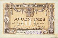 50 Centimes FRANCE régionalisme et divers CALAIS 1918 JP.036.34 TTB à SUP