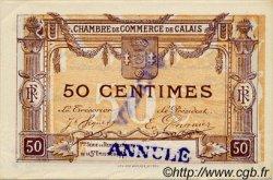 50 Centimes FRANCE régionalisme et divers CALAIS 1917 JP.036.36 SPL à NEUF
