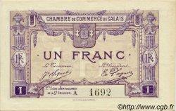1 Franc FRANCE régionalisme et divers CALAIS 1918 JP.036.37 SPL à NEUF