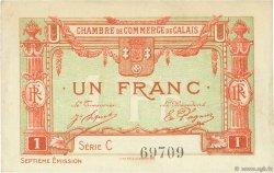 1 Franc FRANCE régionalisme et divers CALAIS 1918 JP.036.41 TTB à SUP