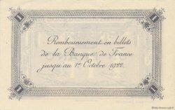 1 Franc FRANCE régionalisme et divers Calais 1916 JP.036.43 SPL à NEUF