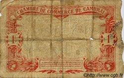 1 Franc FRANCE régionalisme et divers Cambrai 1914 JP.037.01 TB