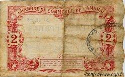 2 Francs FRANCE régionalisme et divers CAMBRAI 1914 JP.037.13 TB