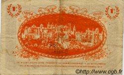 1 Franc FRANCE régionalisme et divers CARCASSONNE 1914 JP.038.06 TB