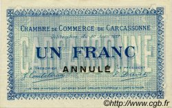 1 Franc FRANCE régionalisme et divers CARCASSONNE 1917 JP.038.14 SPL à NEUF