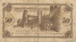 50 Centimes FRANCE régionalisme et divers CARCASSONNE 1920 JP.038.15 TB