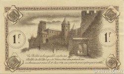 1 Franc FRANCE régionalisme et divers Carcassonne 1920 JP.038.17 SPL à NEUF