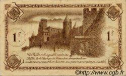 1 Franc FRANCE régionalisme et divers CARCASSONNE 1920 JP.038.17 TTB à SUP