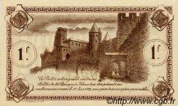 1 Franc FRANCE régionalisme et divers Carcassonne 1920 JP.038.18 SPL à NEUF