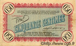 50 Centimes FRANCE régionalisme et divers CETTE ACTUELLEMENT SETE 1915 JP.041.04 TTB à SUP