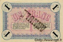 1 Franc FRANCE régionalisme et divers Cette, actuellement Sete 1915 JP.041.08 SPL à NEUF