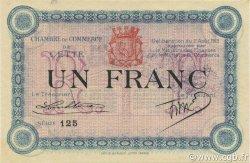 1 Franc FRANCE régionalisme et divers CETTE ACTUELLEMENT SETE 1915 JP.041.09 SPL à NEUF