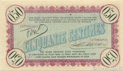 50 Centimes FRANCE régionalisme et divers Cette, actuellement Sete 1915 JP.041.10 SPL à NEUF