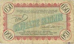 50 Centimes FRANCE régionalisme et divers Cette, actuellement Sete 1915 JP.041.11 TB