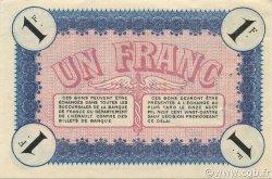 1 Franc FRANCE régionalisme et divers Cette, actuellement Sete 1915 JP.041.14 SPL à NEUF