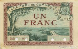 1 Franc FRANCE régionalisme et divers Cette, actuellement Sete 1922 JP.041.23 SPL à NEUF