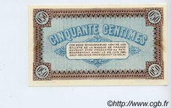 50 Centimes FRANCE régionalisme et divers CHÂLON-SUR-SAÔNE, AUTUN ET LOUHANS 1916 JP.042.01 SPL à NEUF
