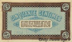 50 Centimes FRANCE régionalisme et divers CHÂLON-SUR-SAÔNE, AUTUN ET LOUHANS 1916 JP.042.01 TTB à SUP