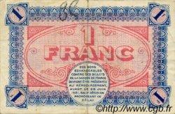 1 Franc FRANCE régionalisme et divers CHÂLON-SUR-SAÔNE, AUTUN ET LOUHANS 1916 JP.042.04 TTB à SUP