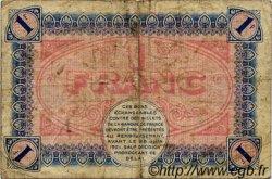1 Franc FRANCE régionalisme et divers Châlon-Sur-Saône, Autun et Louhans 1916 JP.042.04 TB