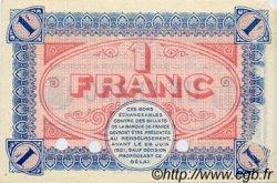 1 Franc FRANCE régionalisme et divers CHÂLON-SUR-SAÔNE, AUTUN ET LOUHANS 1916 JP.042.05 SPL à NEUF