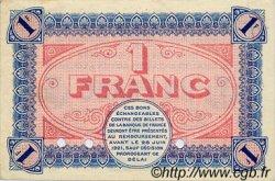 1 Franc FRANCE régionalisme et divers CHÂLON-SUR-SAÔNE, AUTUN ET LOUHANS 1916 JP.042.06 SPL à NEUF