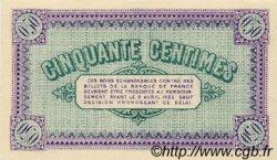 50 Centimes FRANCE régionalisme et divers CHÂLON-SUR-SAÔNE, AUTUN ET LOUHANS 1920 JP.042.24 SPL à NEUF