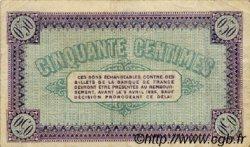 50 Centimes FRANCE régionalisme et divers CHÂLON-SUR-SAÔNE, AUTUN ET LOUHANS 1920 JP.042.24 TB
