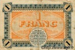 1 Franc FRANCE régionalisme et divers CHÂLON-SUR-SAÔNE, AUTUN ET LOUHANS 1920 JP.042.30 TTB à SUP