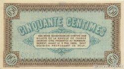 50 Centimes FRANCE régionalisme et divers Châlon-Sur-Saône, Autun et Louhans 1922 JP.042.32 SPL à NEUF