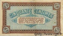 50 Centimes FRANCE régionalisme et divers Châlon-Sur-Saône, Autun et Louhans 1922 JP.042.32 TTB à SUP