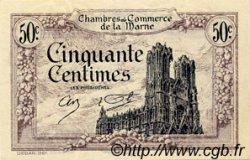 50 Centimes FRANCE régionalisme et divers Chalons, Reims, Épernay 1922 JP.043.01 SPL à NEUF