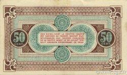 50 Centimes FRANCE régionalisme et divers CHAMBÉRY 1916 JP.044.08 TTB à SUP