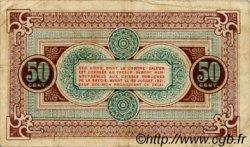 50 Centimes FRANCE régionalisme et divers CHAMBÉRY 1916 JP.044.08 TB