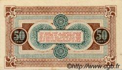 50 Centimes FRANCE régionalisme et divers Chambéry 1920 JP.044.11 SPL à NEUF