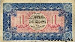 1 Franc FRANCE régionalisme et divers CHAMBÉRY 1920 JP.044.14 TB