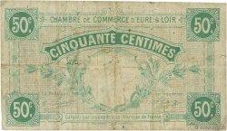 50 Centimes FRANCE régionalisme et divers Chartres 1915 JP.045.01 TB