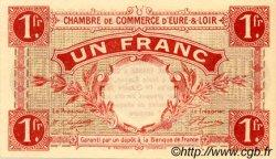 1 Franc FRANCE régionalisme et divers CHARTRES 1915 JP.045.03 SPL à NEUF
