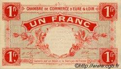 1 Franc FRANCE régionalisme et divers CHARTRES 1915 JP.045.03 TTB à SUP