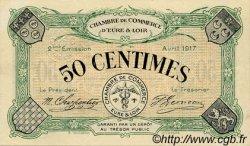 50 Centimes FRANCE régionalisme et divers Chartres 1917 JP.045.05 SPL à NEUF