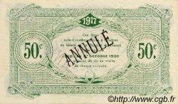 50 Centimes FRANCE régionalisme et divers Chartres 1917 JP.045.06 SPL à NEUF