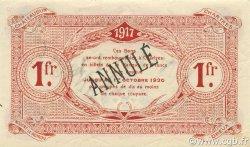 1 Franc FRANCE régionalisme et divers CHARTRES 1917 JP.045.08 SPL à NEUF