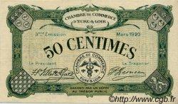50 Centimes FRANCE régionalisme et divers CHARTRES 1920 JP.045.09 TTB à SUP