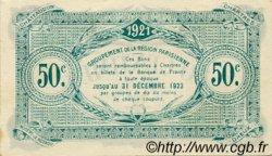 50 Centimes FRANCE régionalisme et divers CHARTRES 1921 JP.045.11 TTB à SUP