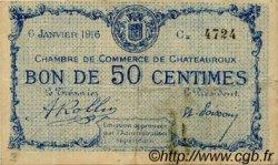 1 Franc FRANCE régionalisme et divers CHATEAUROUX 1915 JP.046.11 TB