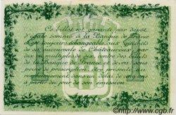 1 Franc FRANCE régionalisme et divers CHATEAUROUX 1915 JP.046.12 SPL à NEUF