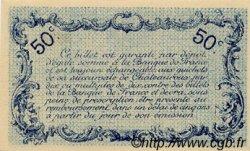 50 Centimes FRANCE régionalisme et divers CHATEAUROUX 1916 JP.046.16 TTB à SUP